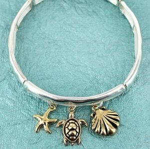 New 2-Toned Sea life Bracelet!